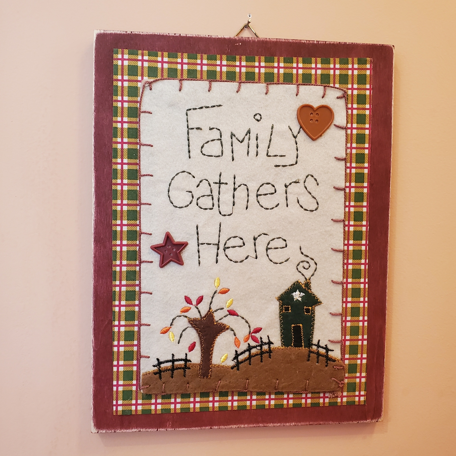 Woodplaque familygathers 1