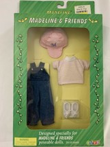 RARE NEW Madeline & Friends Clothing 1999 by EDEN - Playtime Outfit Unopened - $28.49