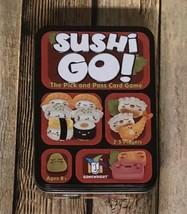 Sushi Go Card Game Tin Edition Sealed Cards New (Open Box) Sushi Go! Gam... - $18.41