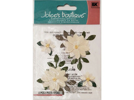 Jolee's Boutique Vanilla Flowers Stickers #SPJC034