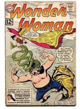 Wonder Woman #130 Comic Book 1962-MISTER GENIE-DC Silver Age Vg - $47.92