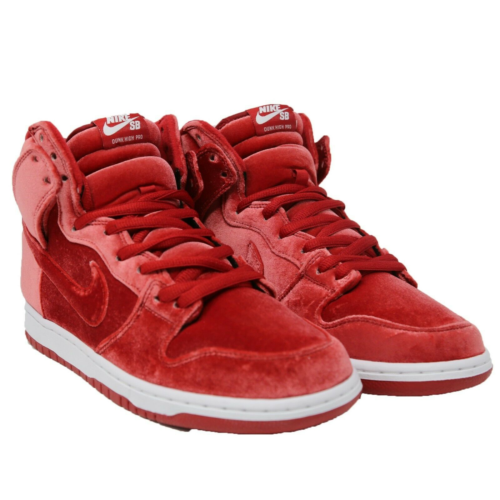 buy popular 8ee46 d511e Nike Sb Dunk Hoch pro 'Roter samt ' Crush and 50 similar items