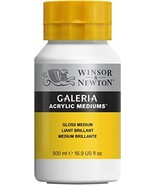 Winsor & Newton Galeria Acrylic Gloss Medium, 500ml - $19.34