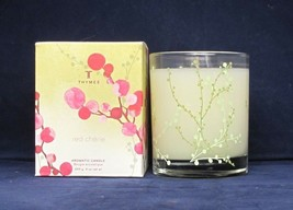 Thymes Red Cherie Aromatic Candle 9 oz net wt 255 g NIB - $24.74