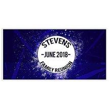 Splatter Family Reunion Banner Personalized Backdrop Decoration - €18,94 EUR