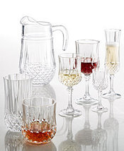 Cristal D'Arques Longchamp 24%LEAD Crystal FLUTES Set OF 4 MADE IN FRANCE NEW  - $119.90