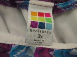 Toddler girl's blue & purple striped tank  Size 3T by Healthtex MCHE235 - $6.69