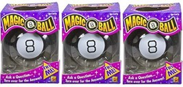Magic 8 Ball Toy Game (Pack of 3) - $54.13