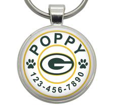 Dog Tag - Green Bay Packers - Dog ID Tag, Cat ID Tag, Pet ID Tag, Cat Tag - $19.99