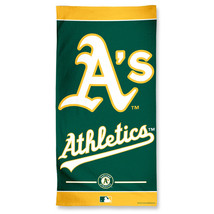 Oakland Athletics Towel 30x60 Beach Style**Free Shipping** - $24.70