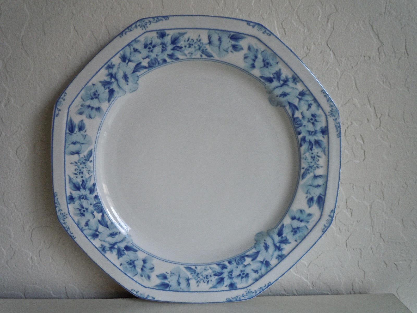 Christopher Stuart Dresden Blue Dinner Plate
