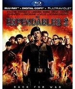 The Expendables 2 (Blu-ray Disc, 2012, Includes Digital Copy UltraViolet) - $3.88