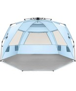 Easthills Outdoors Instant Shader Deluxe Xl Easy Up 4 Person Beach Tent ... - $117.80
