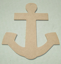 Large Chipboard Ship Anchor for Crafting - $4.50