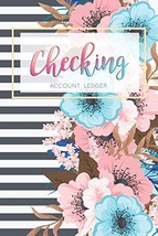 Checking Account Ledger: 6 Column Payment Record, Record and Tracker Log Book, P