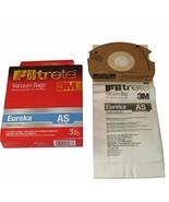 Eureka AS Airspeed Filtrete 3M Micro Allergen Filtration Vacuum Bags: 18... - $25.88