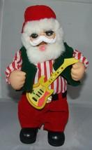 """Weihnachtsmann Weihnachten Singing Animierter Spielzeug 12 """" Tanzend Jingle - $28.65"""