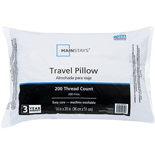 Mainstay 94468-3018 Travel Pillow