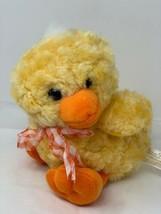 "Dan Dee Collectors Choice Yellow Duck Chick Plush 9"" Tall Soft Stuffed Animal - $9.50"
