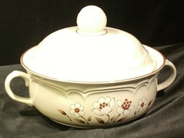 Stoneware Cumberland Mayblossom Tureen with lid by Hearthside AA-192035-G Vintag image 2