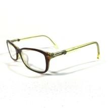 Calvin Klein Glasses Eyeglasses Frames Green Brown Tortoise Rectangular ... - $46.74