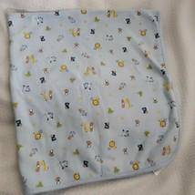 Carter's Child of Mine Baby Blanket Blue Sports Turtle Penguin Giraffe Dog Lion - $44.54