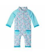 UV SKINZ UPF 50+ Baby Girls' Sun & Swim Suit - Aqua Toucan - 2T - $44.65