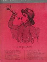 News From Home Insurance Company Magazine Summer 1959 The Fireman  - $10.09