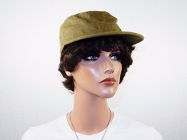 Lot of 12 Military Style Cadet Cap, Patrol, Army Hat, Olive Green, 7 1/8... - $88.15