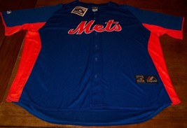 VINTAGE STYLE NEW YORK METS MLB BASEBALL STITCHED JERSEY 2XL XXL  NEW W/... - $74.25