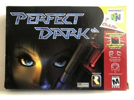 Perfect Dark (Nintendo 64, 2000) Complete in Box, N64, USA SELLER - $25.75