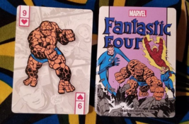 Vintage Fantastic Four Playing Cards by Marvel - $6.50