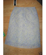Ladies A BYER Sheer Delight Skirt Size M JR NEW Light Green Blue Purple ... - $14.67