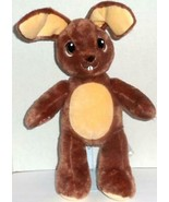 "BUILD A BEAR CHOCOLATE BROWN JUMPIN JACK BUNNY RABBIT 17"" EASTER PLUSH D... - $15.99"