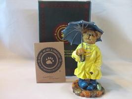 "Boyds Bears Figurine ""Wellington...Stormy Weather"" - 2005, Box Included - $21.99"