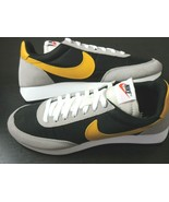 Nike Mens Air Tailwind 79 Running Shoes Black University Gold Size 9.5 C... - $108.89
