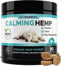 Advanced Calming Treats for Dogs - All-Natural Soothing Dog Anxiety Relief - $28.90