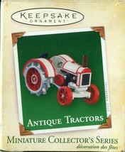 Hallmark Keepsake Antique Tractors Miniature Christmas Ornament 2005 9th... - $4.94