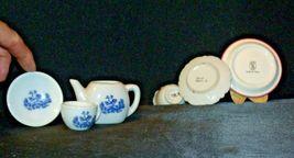 Miniature Pitcher, Tea Cups & Saucers AB 299 Vintage image 4