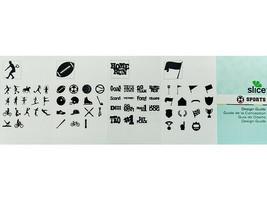 Slice Sports Design Card and Design Guide, Scrapbooking & Card Making image 2