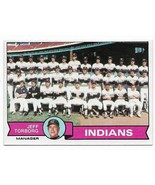 1979 Topps Cleveland Indians Team Set with Buddy Bell - $4.55