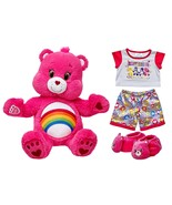 Build a Bear Cheer Care Bears Pink 17in. Teddy ... - $129.95