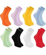 8 pairs of DIABETIC Non-Elastic Cotton Socks for SWOLLEN FEET for Mens &... - $47.03