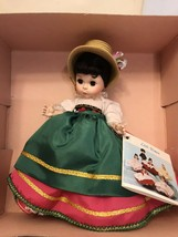 "8"" Madame Alexander Italian Doll Italy #593International Series - $18.70"
