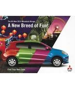 2014 Mitsubishi MIRAGE sales brochure catalog folder US 14 - $6.00