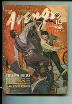 Avenger 03/1942-STREET & SMITH-THE Happy KILLERS-PULP-good+ - $94.36