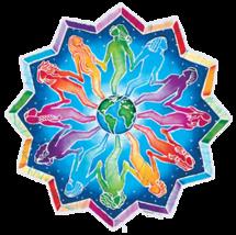 People  Around the World Mandala Sticker Deadhead  Car Decal Hippie - $5.49