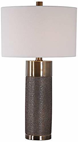 Uttermost Brannock Metallic Golden Bronze Ceramic Table Lamp image 2
