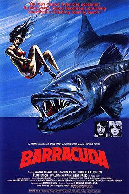 Primary image for Barracuda - 1978 - Movie Poster