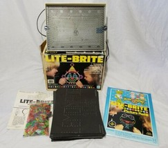 Hasbro 1981 Lite Brite Complete Pegs & Extra Blank Sheets & Muppet Babies Refill - $49.38
